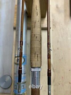 Orvis Battenkill Bamboo Fly Rod 7 1/2' 2/2 S/n#46661. Grande Tige