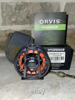 Orvis Hydros Sl II Large Arbor Fly Reel Great Pour 3-5 Wt Rod