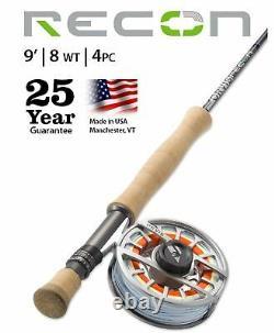 Orvis Recon Saltwater 8wt 9'0 Made USA Livraison Gratuite Garantie De 25 Ans