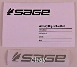 Sage Dart 6 Ft 6 En 3 Wt Fly Rod Free Fly Line Livraison Gratuite De 2 Jours