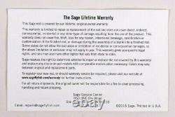 Sage Trout LL Fly Rod 9 Ft 6 Wt Free Fly Line Gratuit 2 Jours D'expédition