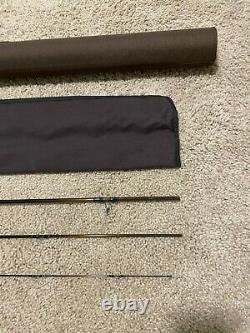 Sage Vps Light 490-3 90 4wt Fly Fishing Rod Avec Rod Tube Et Rod Sock