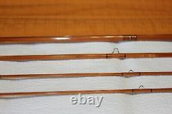 Scott American Built Bamboo 7ft 7 Pouces 4 Wt #90 De Nouvelles Offres Bamboo