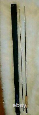 Scott Fly Rod Sas 804 8' #4 2 Pc 2.8 Oz Equisite & Mint Étui De Transport Avec Poignée