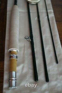 T.n.-o. Rl Winston Air 9' 6wt 4-piece Fly Rod With Tube, Fly Fishing Rod For Trout
