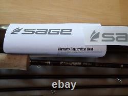 Truite Sage LL 590-4 9 Pied 5 Poids Bâton Fly Garantie Non Inscriptionnée! Immaculé