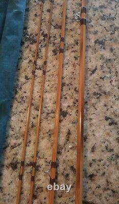 Vintage F. E. Thomas Special Streamer Bamboo Fly Rod 9'0 3/2 Bamboo Rod Rare