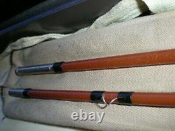 Vintage, Rare''orvis'' 8' 2pc. 4-1/4oz. 8wt. Fiberglass Fly Rod. Exc (en Milliers De Dollars Des États-unis)