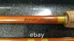 Wright & Mcgill Granger Special 8 1/2' Bamboo Fly Rod #8642 Ex Cond