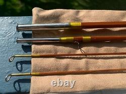 Wright & Mcgill Granger Special Bamboo Fly Rod 4wt, 3/2 Conf, 5 Oz, Xlnt